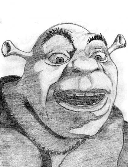 Shrek by Danyka